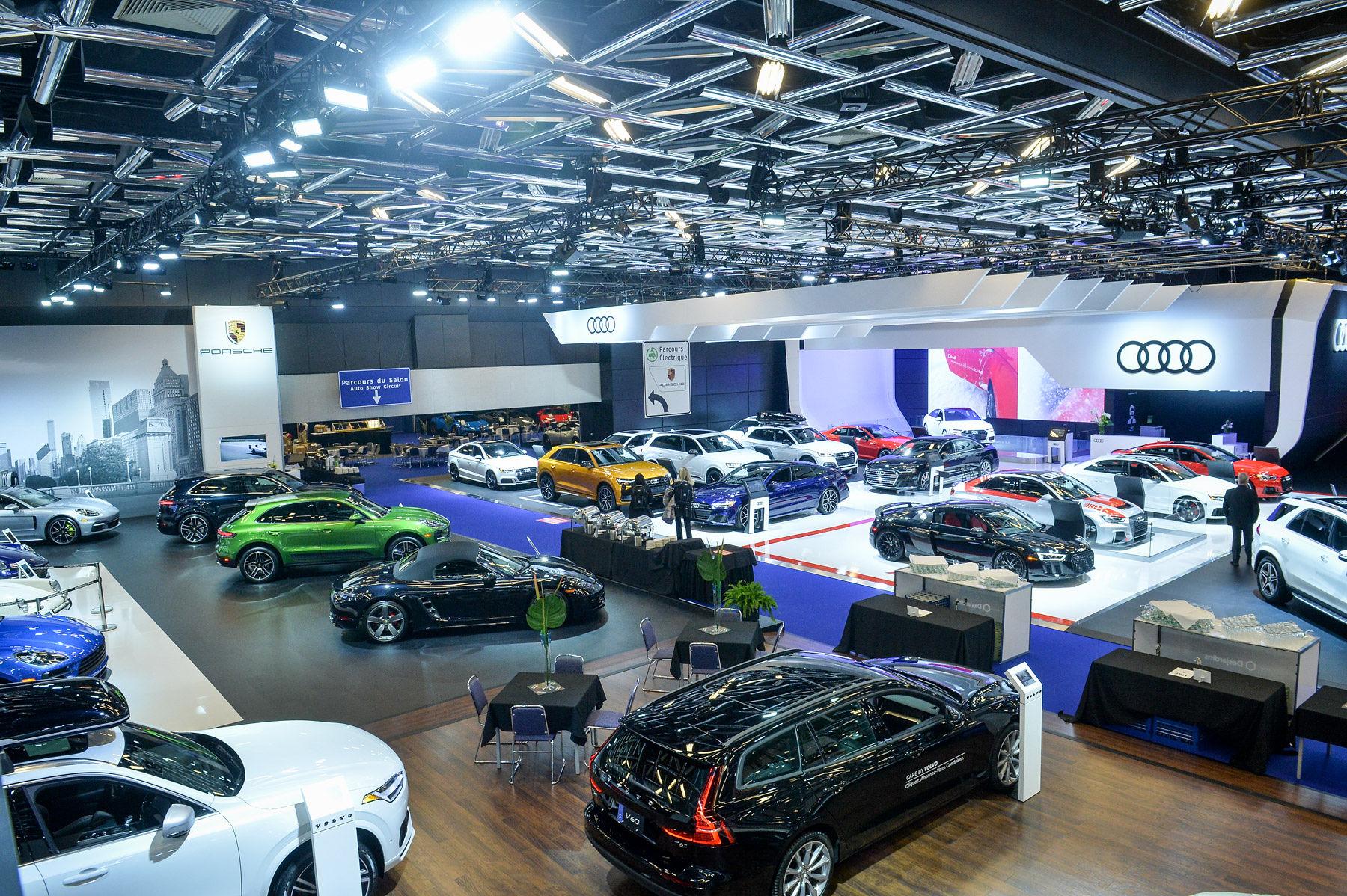 Salon de L'auto de Montréal 2019 – Mère nature s'en est mêlée