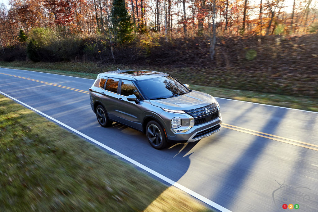 Mitsubishi Canada dévoile les prix de l'Outlander 2022