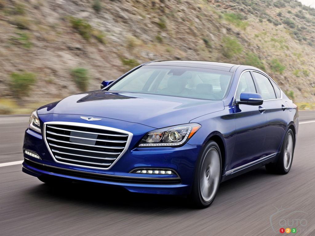 Hyundai rappelle 94646 berlines Genesis et Genesis G80