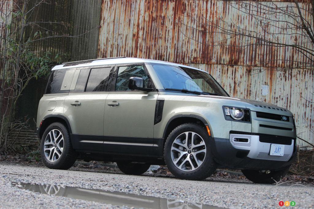 Essai du Land Rover Defender 2021 : le grand retour