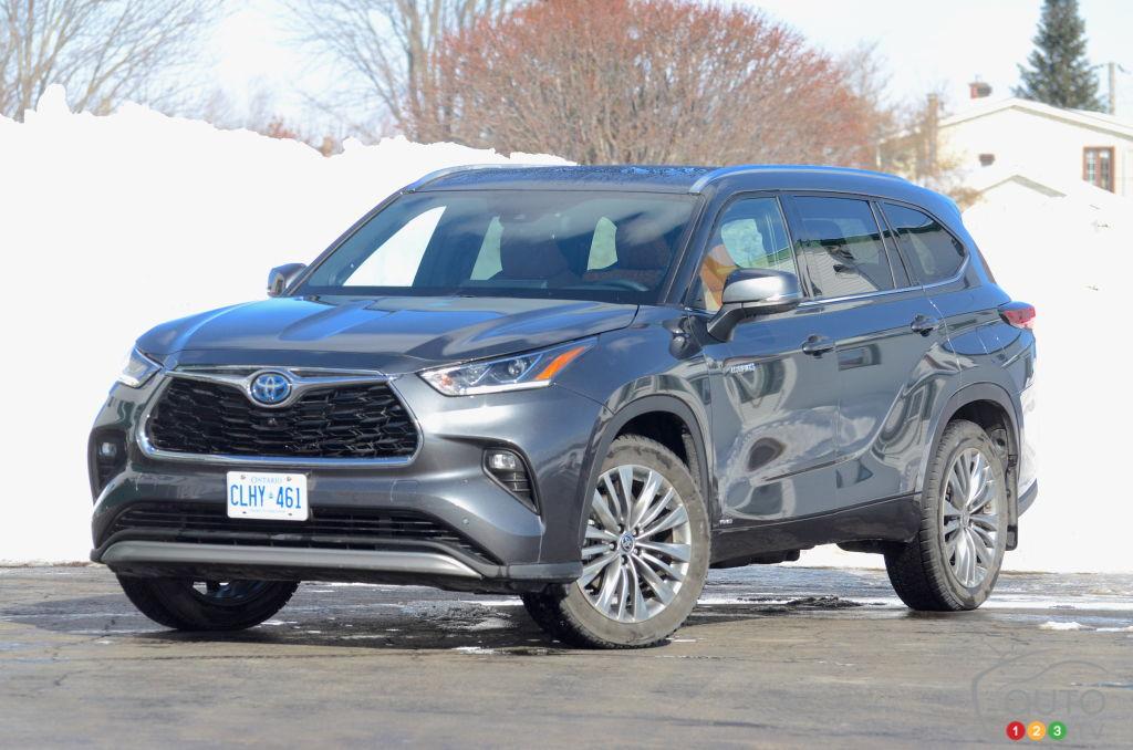 Essai du Toyota Highlander hybride 2021 : pas le plus convaincant